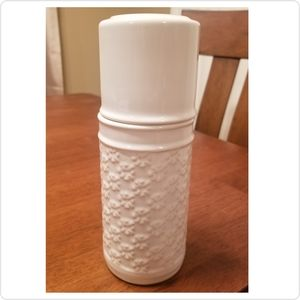 Threshold Ceramic Carafe - Cream Neutral Patterned